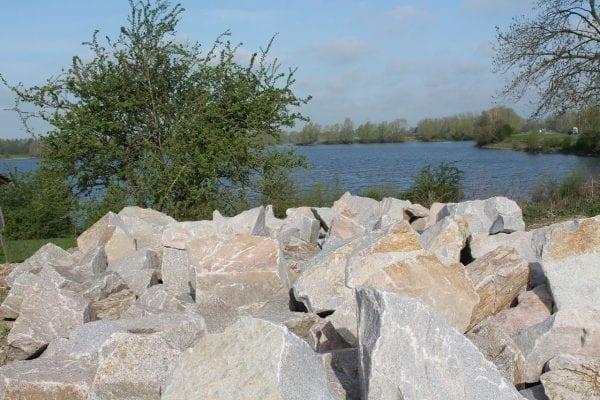 Gebroken Graniet Findlinge